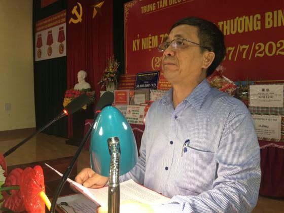 Chủ tịch HĐND TPHCM Nguyễn Thị Lệ thăm các thương binh nặng ở Phú Thọ ảnh 2