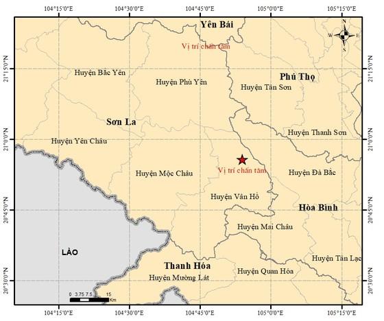 5 trận động đất ở Sơn La, mưa lớn Hạ Long chìm trong biển nước ảnh 1