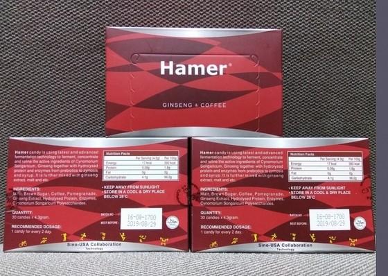 Bộ Công thương yêu cầu loại ngay kẹo Hamer vì chứa chất điều trị cương dương ảnh 1