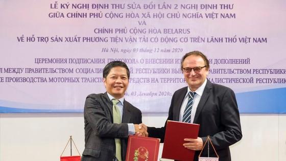 Belarus giúp Việt Nam nội địa hóa sản xuất ô tô ảnh 1
