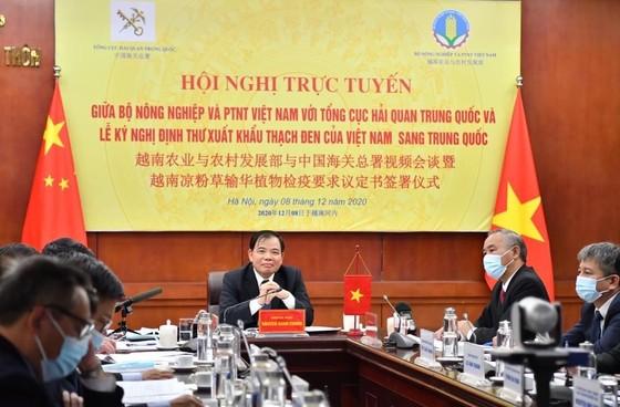 Ký kết xuất khẩu thạch đen Việt Nam sang Trung Quốc ảnh 2