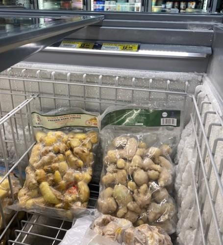 Gừng đông lạnh Việt Nam bán 154.000 – 223.000 đồng/kg tại Australia ảnh 1