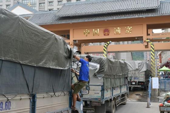 Hôm nay 18-8, cửa khẩu Tân Thanh thông mở trở lại ảnh 1