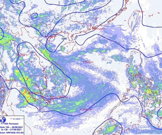 Miền Nam sẽ gia tăng mưa gió vì bão gần Biển Đông ảnh 2
