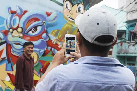 Khi người trẻ... đói sân chơi Graffiti ảnh 8