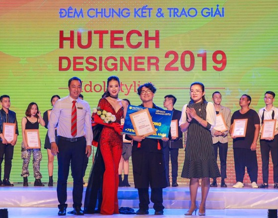 Trao giải chung kết cuộc thi Thiết kế thời trang HUTECH Designer 2019 ảnh 3