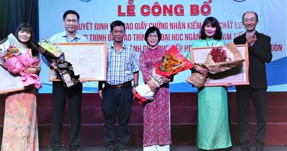 3 chương trình sư phạm của Trường ĐH Sài Gòn đạt kiểm định chất lượng quốc gia ảnh 1