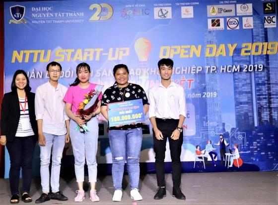 Sinh viên Trường ĐH Nguyễn Tất Thành giành giải nhất cuộc thi Ý tưởng khởi nghiệp sáng tạo 2019 ảnh 1
