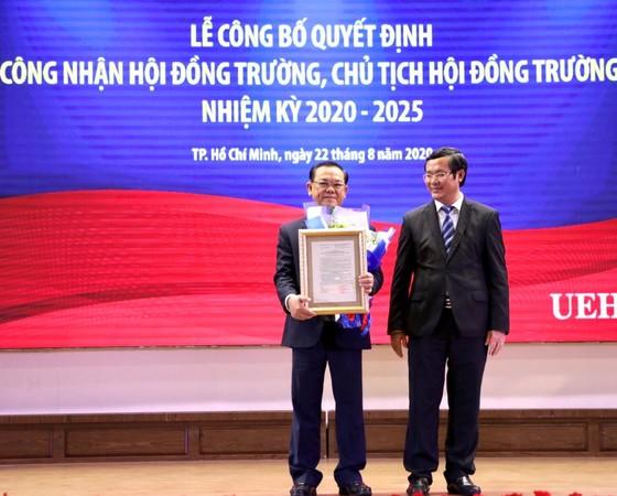 GS-TS Nguyễn Đông Phong làm Chủ tịch Hội đồng trường ĐH Kinh tế TPHCM ảnh 1