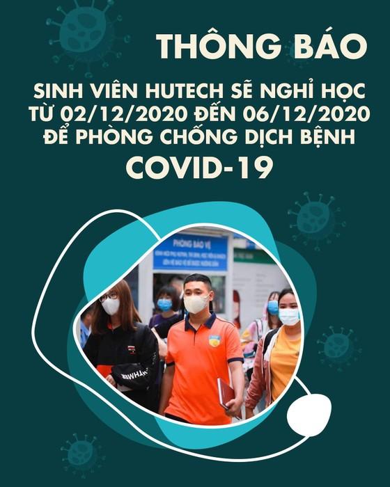 Sinh viên đến cổng trường thì nhận thông báo nghỉ học, lý do: Liên quan bệnh nhân 1.342 ảnh 1