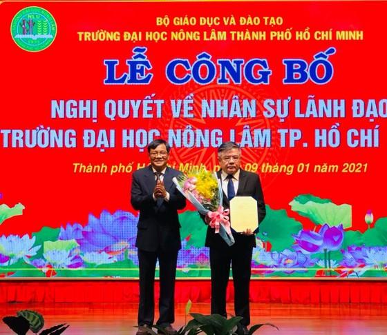 PGS-TS Huỳnh Thanh Hùng giữ quyền hiệu trưởng ĐH Nông lâm TPHCM ảnh 1