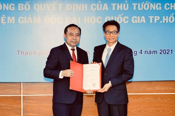 Trao quyết định bổ nhiệm ông Vũ Hải Quân làm Giám đốc Đại học Quốc gia TPHCM ảnh 1