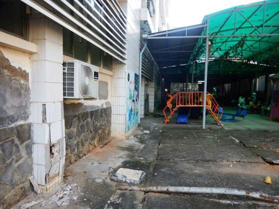 Hãi hùng chân trụ nâng đỡ 4 tầng lầu Bệnh viện Đa khoa tỉnh Bình Thuận nứt toác, trơ sắt ảnh 6