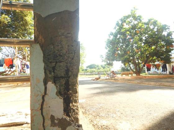 Vụ Bệnh viện Đa khoa tỉnh Bình Thuận bị hư hỏng: Nhiều hạng mục xuống cấp, nguy hiểm cục bộ ảnh 2
