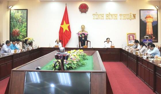 Phó Chủ tịch nước Đặng Thị Ngọc Thịnh thăm và làm việc tại tỉnh Bình Thuận ảnh 1