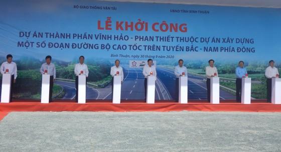 Khởi công tuyến cao tốc Vĩnh Hảo - Phan Thiết ảnh 3