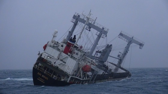Vụ tàu của Panama chìm trên biển Phú Quý: Đã tìm thấy 10 thủy thủ, 5 người còn mất tích ảnh 1
