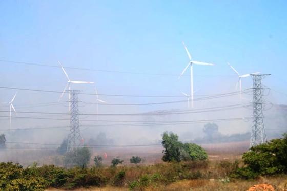 Cháy lớn đe dọa hàng loạt dự án điện gió, Chủ tịch huyện trực tiếp chỉ đạo dập lửa ảnh 2