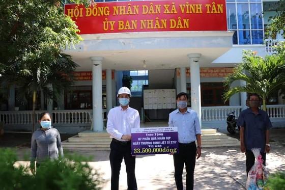 Công ty Nhiệt điện Vĩnh Tân ủng hộ 300 triệu đồng vào Quỹ phòng, chống dịch Covid-19  ảnh 2
