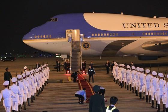 Tổng thống Mỹ Donald Trump đã đến Hà Nội ảnh 10