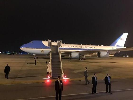 Tổng thống Mỹ Donald Trump đã đến Hà Nội ảnh 9