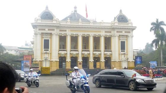 Đoàn xe ông Kim Jong-un tới Hà Nội ảnh 4
