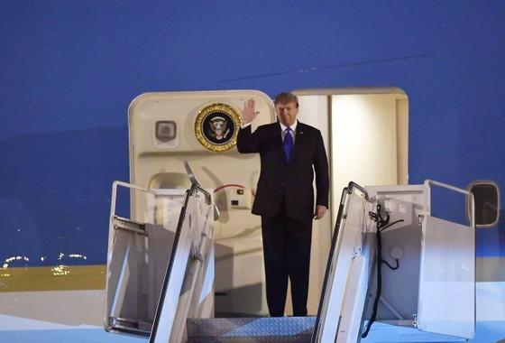 Tổng thống Mỹ Donald Trump đã đến Hà Nội ảnh 13
