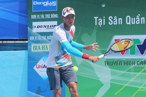 Minh Tuấn đã vô địch đơn nam hệ chuyên nghiệp tại giải. Nguồn: VTF
