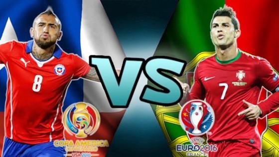 Bồ Đào Nha - Chile: Chung kết sớm