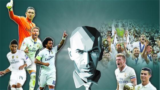 Real Madrid  mơ cú ăn 6