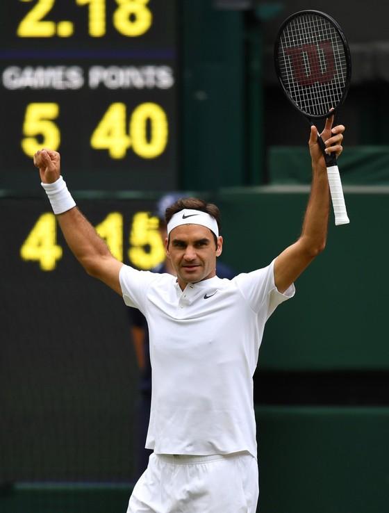 Roger Federer hướng đến kỳ công thứ 19. ảnh 1