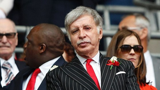Ông chủ Arsenal, Stan Kroenke.