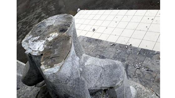 Bắc Kạn thông tin về vụ việc bức tượng gãy đổ gây thương tích cho bé trai ảnh 2