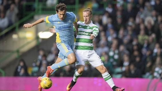 Cả Celtic (phải) lẫn Astana đã tạo nên màn tranh tài hấp dẫn tại Scotland ở mùa giải trước.