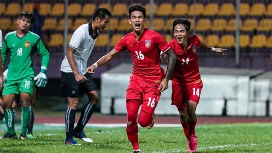 Myanmar sớm giành vé đầu tiên vào bán kết.                    Ảnh: T.L