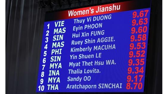 Dương Thúy Vi giành HCV đầu tiên cho đoàn thể thao Việt Nam ảnh 3