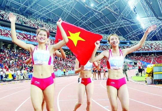 Điền kinh hứa hẹn sẽ tiếp tục đột phá HCV cho thể thao Việt Nam                                                                             Ảnh: HUY THẮNG