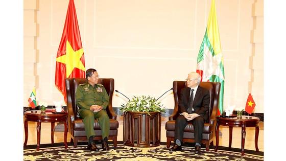 Việt Nam - Myanmar ký Tuyên bố chung về quan hệ đối tác hợp tác toàn diện ảnh 1