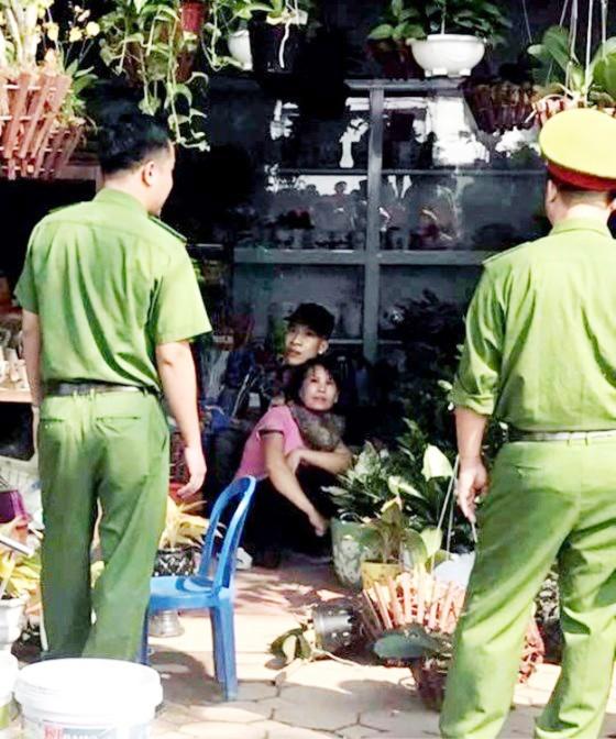 Bắt đối tượng, giải cứu thành công con tin tại Thường Tín, Hà Nội   ảnh 3