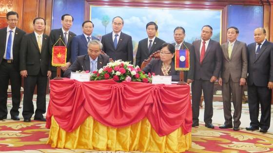 TPHCM sẵn sàng chia sẻ kinh nghiệm, giải pháp phát triển Thủ đô Viêng Chăn, Lào ảnh 3