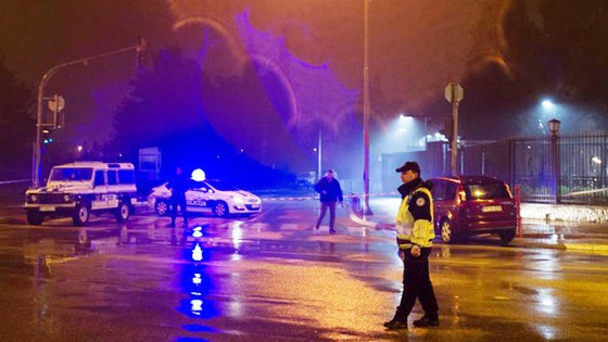 Đại sứ quán Mỹ ở thủ đô Montenegro bị ném lựu đạn ảnh 1