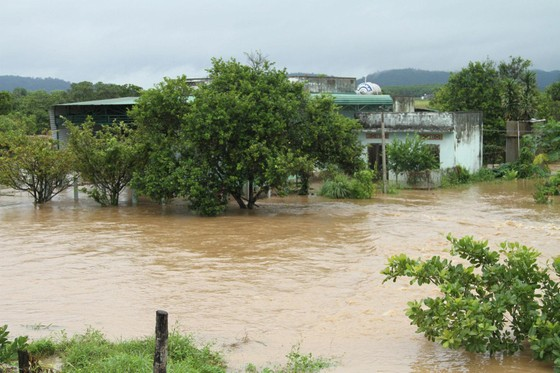 Mưa lớn, 30.000 hộ dân ở Đắk Lắk vẫn đang bị cô lập ảnh 1