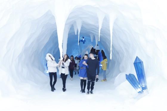 Sun World Fansipan Legend hóa 'Xứ sở pha lê - thiên đường tuyết rơi' – đi ngay kẻo lỡ cả mùa đông    ảnh 4
