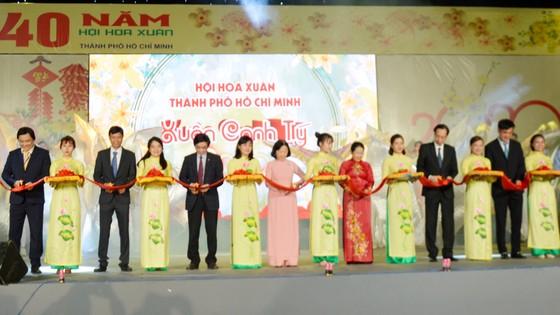 Khai mạc Hội Hoa xuân TPHCM Canh Tý 2020 TPHCM ảnh 1
