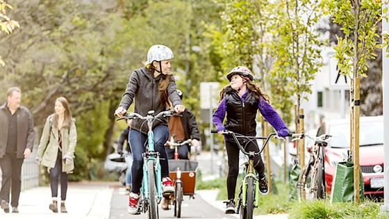 Paris khuyến khích người dân sử dụng xe đạp ảnh 1