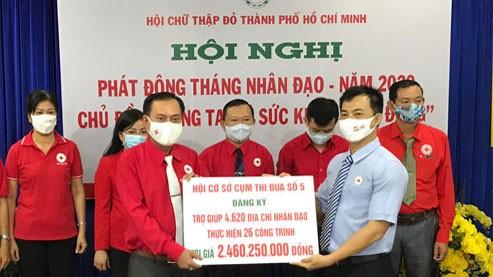 Phát động Tháng nhân đạo vì sức khỏe cộng đồng ảnh 1