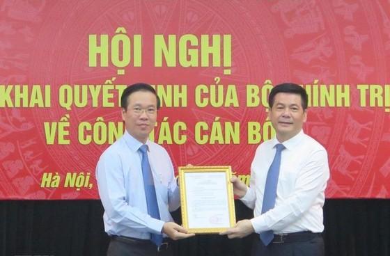 Ban Tuyên giáo Trung ương triển khai quyết định của Bộ Chính trị về công tác cán bộ ảnh 1