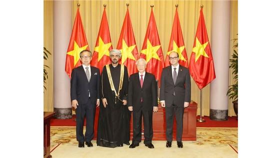 Tổng Bí thư, Chủ tịch nước Nguyễn Phú Trọng tiếp các đại sứ trình Quốc thư ảnh 1