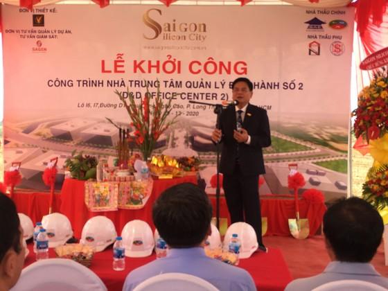 """SAIGON SILICON CITY (SSC) khởi công công trình: Nhà Trung tâm Quản lý Điều hành số 2 thuộc dự án """"Xây dựng và Phát triển Khu Công viên Sài Gòn Silicon"""" ảnh 1"""