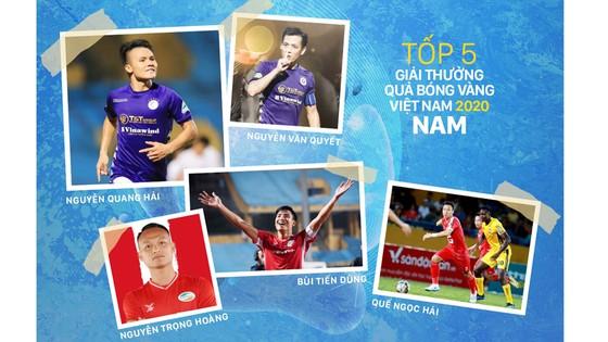 Hôm nay, Gala trao Giải thưởng Quả bóng vàng Việt Nam 2020 - Đêm tôn vinh tài năng ảnh 1